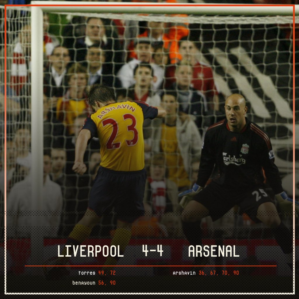 📅 On This Day, 2009: Andrey Arshavin did a madness at Anfield