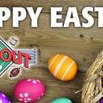 Happy Easter from DJ's Dugout! All DJ's Dugout locations are closed today so our team members can enjoy the holiday with family & friends.