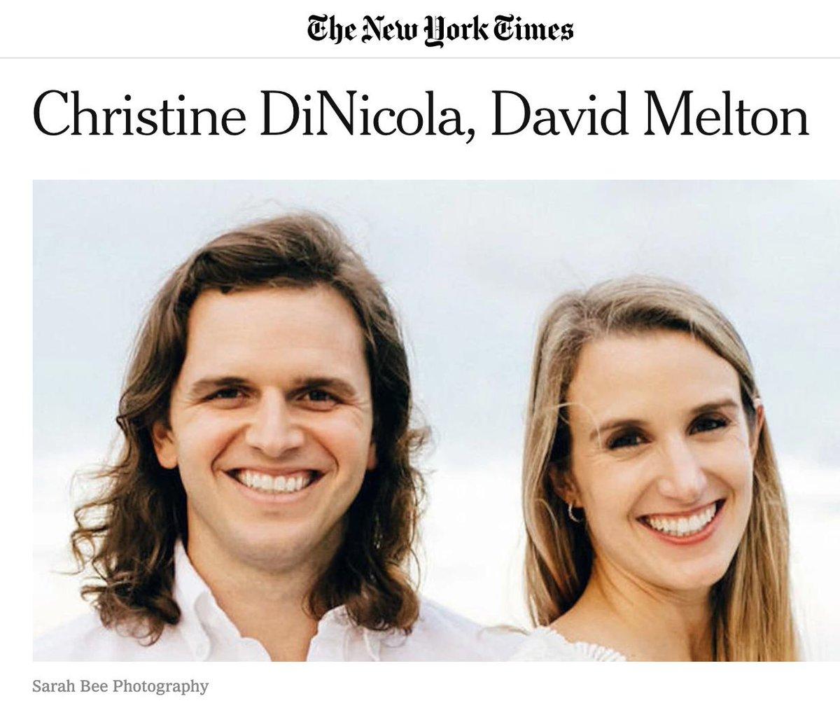 New York Times Wedding Announcement.Lkld Now On Twitter From The Nytimes A Wedding Announcement