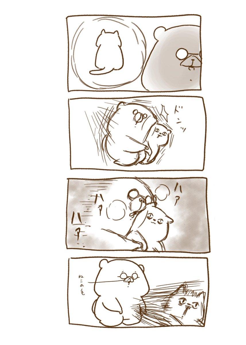 疲れた時とか猫に突然抱きついてハアハア言いますよね