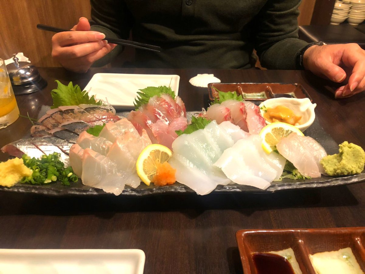 1年前のこの日、福岡を飛び立ち川崎市民となりました。この1年間で転職して青覇テープ投げて入籍して挙式して温かいフロサポに出会って端的に言って最高でした⭐️魚介とお酒ごちそうさまでした?