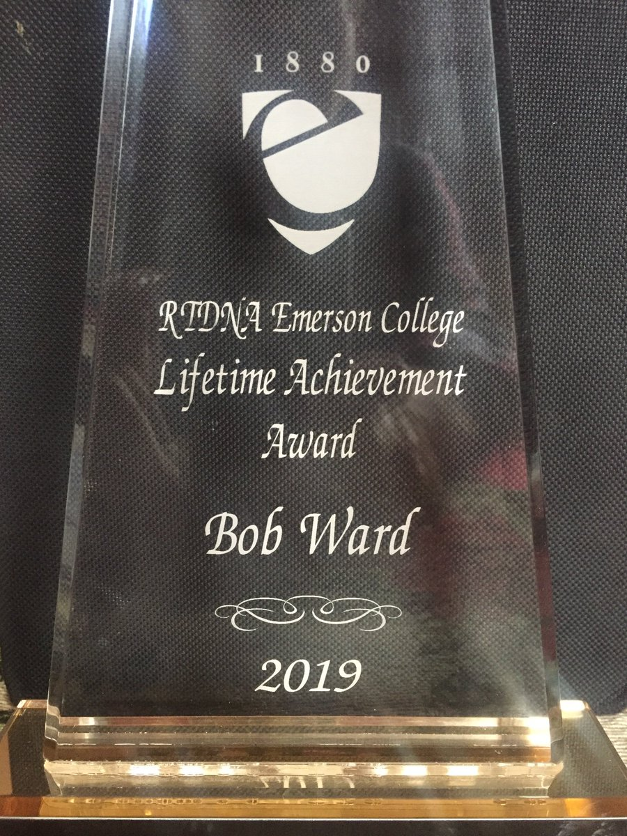 Both humbled and honored to receive @EmersonCollege RTDNA 2019 Lifetime Achievement Award at @RitzCarlton Boston this weekend. Thank you! @boston25 <br>http://pic.twitter.com/ZiR6BGFTFb