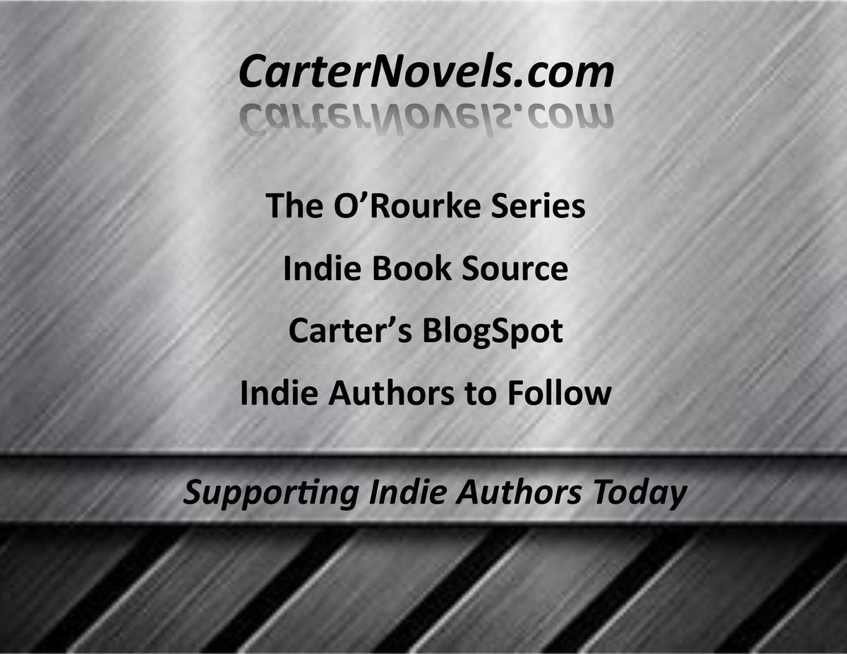 READ RELAX ENJOY Carter Novels https://buff.ly/2STcUn4  #Books #Authors #IARTG #Reading #Kindle #Amazon #ReadIndie #indieauthors #ian1 #LinkedIn #bookboost @rcarter67606 @JPCarter47 #audiobooks #drones #3Dprinting #bookstore24h #WednesdayWisdom @davepperlmutter @JoeCongelAuthor