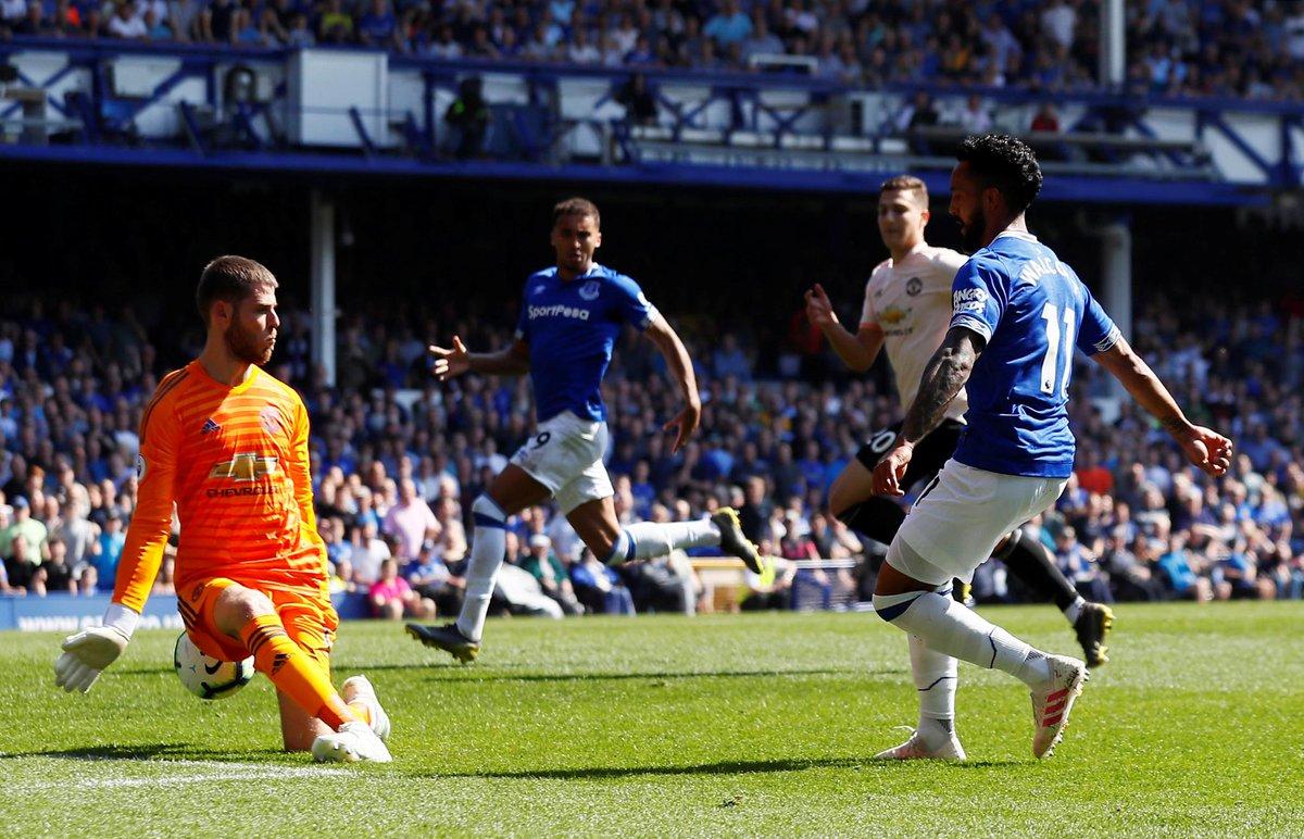 Everton vs Manchester United report: Everton match report