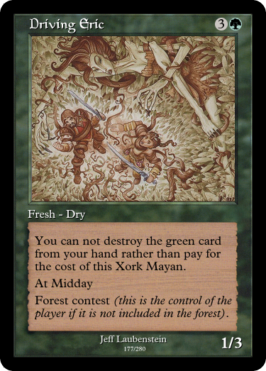 Driving Eric... to insanity thanks to the power of the Xork Mayans. #GoogleTranslatesMTG   (original:  https:// gatherer.wizards.com/Pages/Card/Det ails.aspx?multiverseid=19735 &nbsp; … )<br>http://pic.twitter.com/5r4U3ZVHGr
