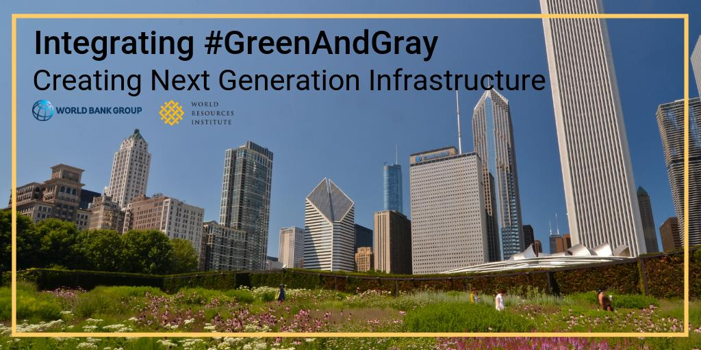 In the face of multiplying environmental threats, traditional infrastructure alone can no longer provide the level of services required in the 21st century. #GreenAndGray are both key to climate resiliency. http://wrld.bg/M1Ao30o4V7C  #WorldWaterDay