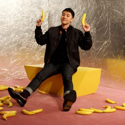 I want VIPs to be healthy so...  Seungri as a fruit, a thread; <br>http://pic.twitter.com/0fTEyOLZVl