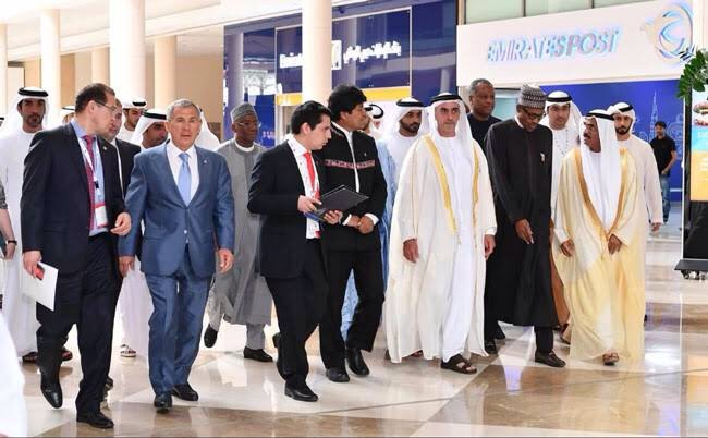 Popular UAE firm ,LuLu ,has resolved to invest in Nigeria,weeks after meeting with Buhari in Dubai. They will set up logistic and sourcing base that will buy directly from our farmers and supply to the Middle East, who don&#39;t have the soil and water like we do,but have the money. <br>http://pic.twitter.com/atkN69eouX