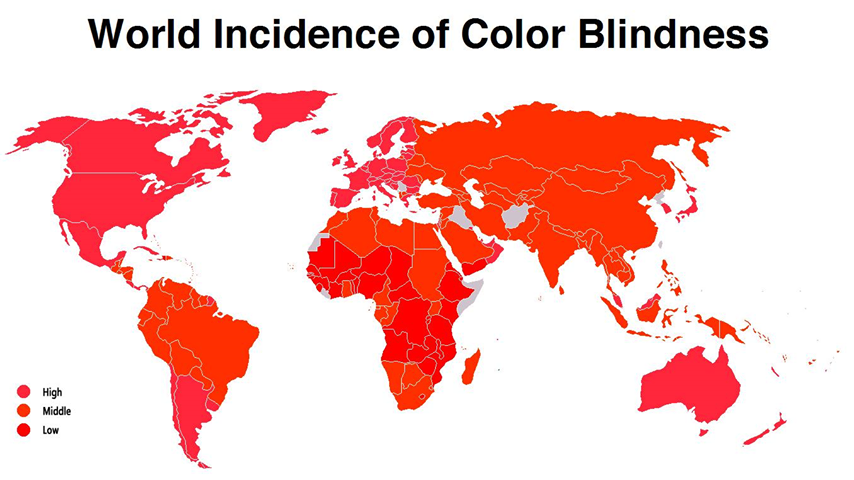 Terrible Maps On Twitter Prevalence Of Colour Blindness Worldwide,Elegant Outdoor Christmas Decorations Ideas