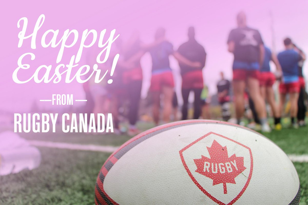 Happy Easter from all of us at Rugby Canada! 🏉 🍁  #<a target=