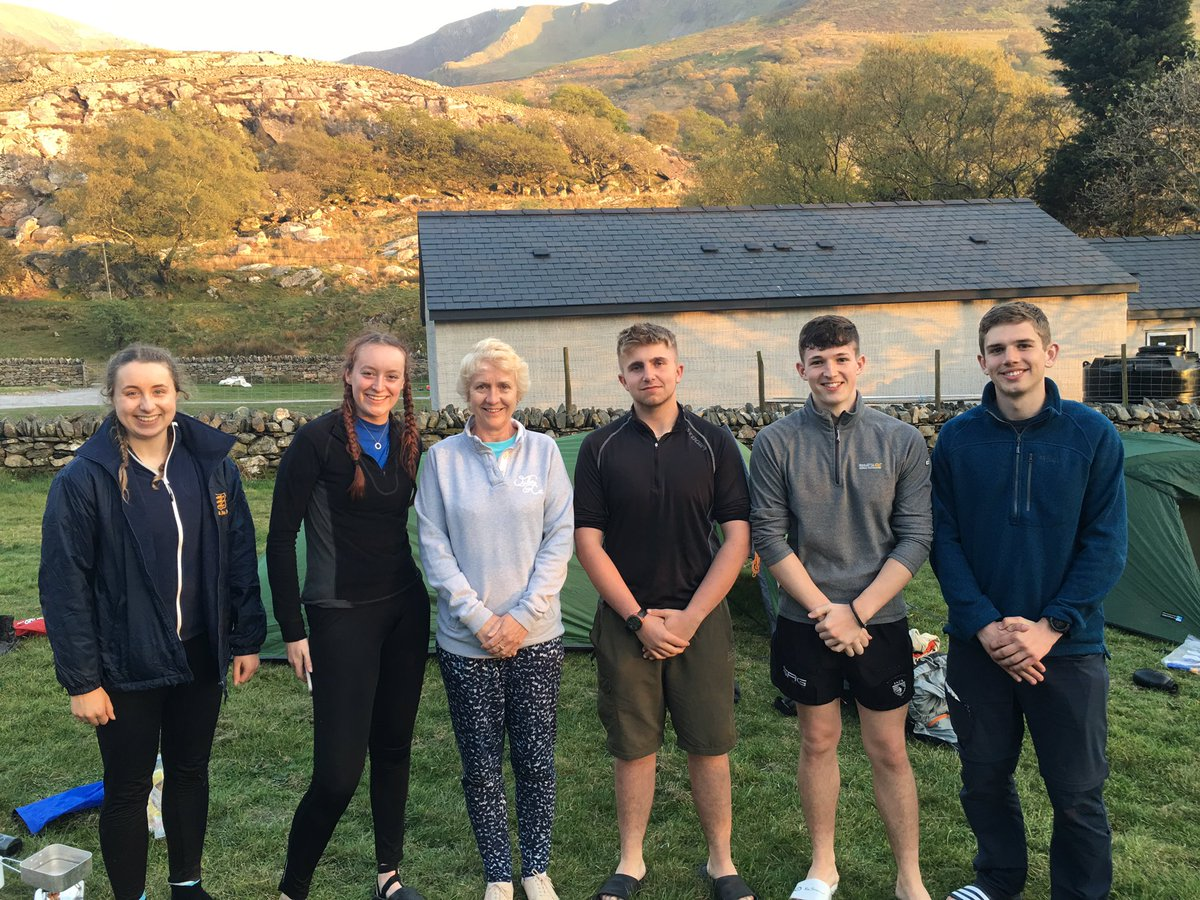 Found some more Gold DofE cadets enjoying their time in Snowdonia.  @233Sqn and others!