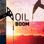 Image for the Tweet beginning: An oil boom – on