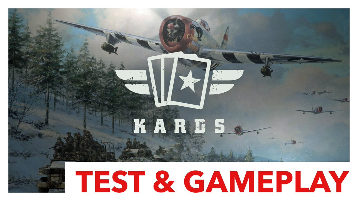 New video is up on my channel. It's about #Kards, a new virtual WW2 card game. Free to play and definitely worth a try! 👍  Video: https://youtu.be/hZCk6IbQkQ4  #Kards #WorldWar2 #CardGame