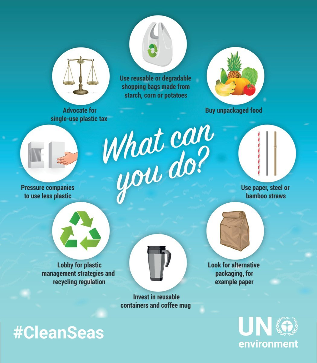 Trillions of microplastic particles are already in our oceans.   On Monday's #EarthDay, learn how you can help #BeatPlasticPollution & take #ClimateAction for #CleanSeas: http://bit.ly/2lLcSgw