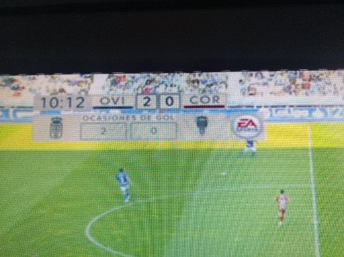 Ofu el Córdoba, apenas 10 minutos, esto es culpa del hándicap no?