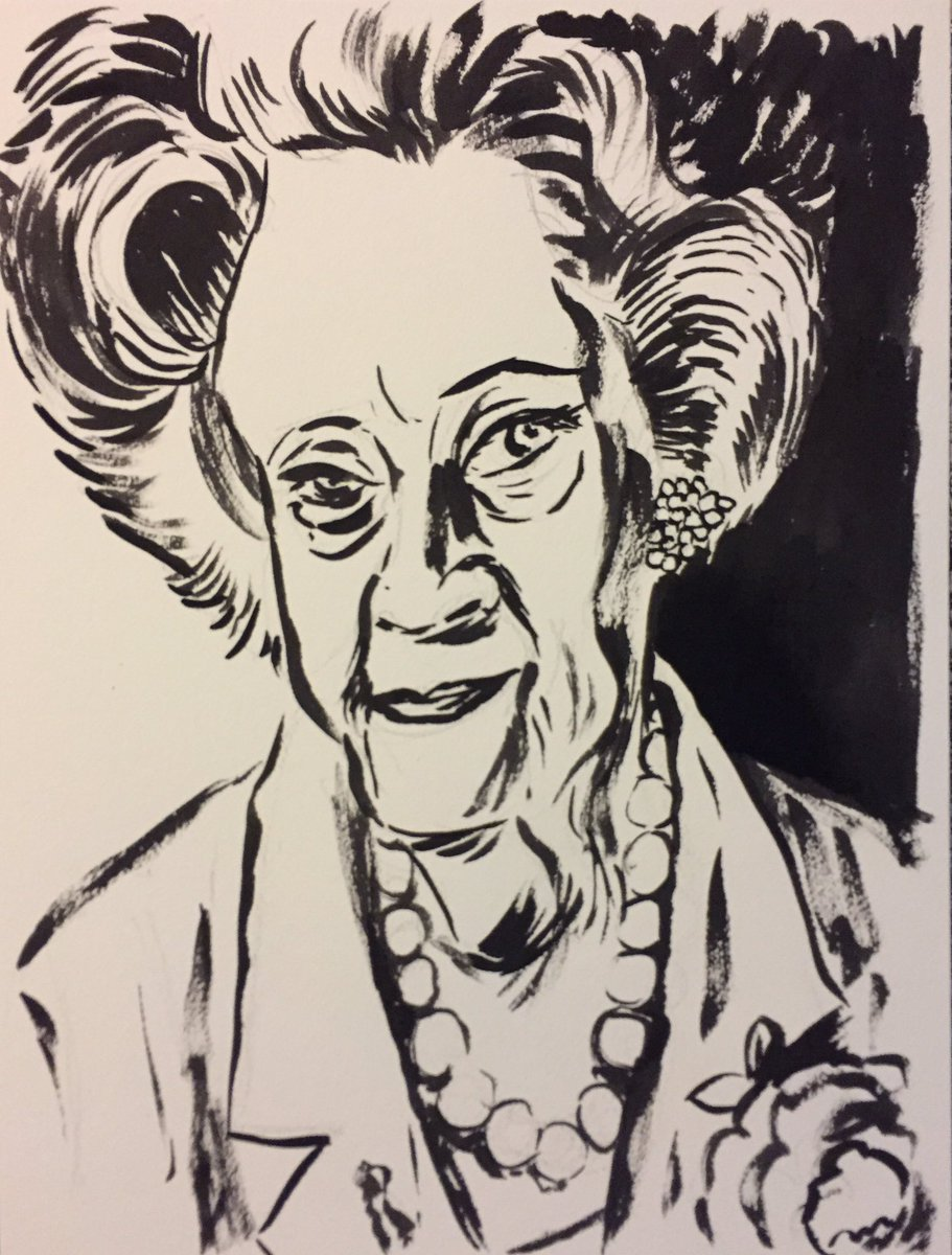 Lorraine Warren, Paranormal Investigator Who Inspired 'The Conjuring' an 'The Amityville Horror' #obitpix #lorrainewarren #theconjuring #theamityvillehorror #paranormal #newenglandsocietyforpsychicresearch #sketch #sketchbook #artwork  #brushdrawing #ink #portrait