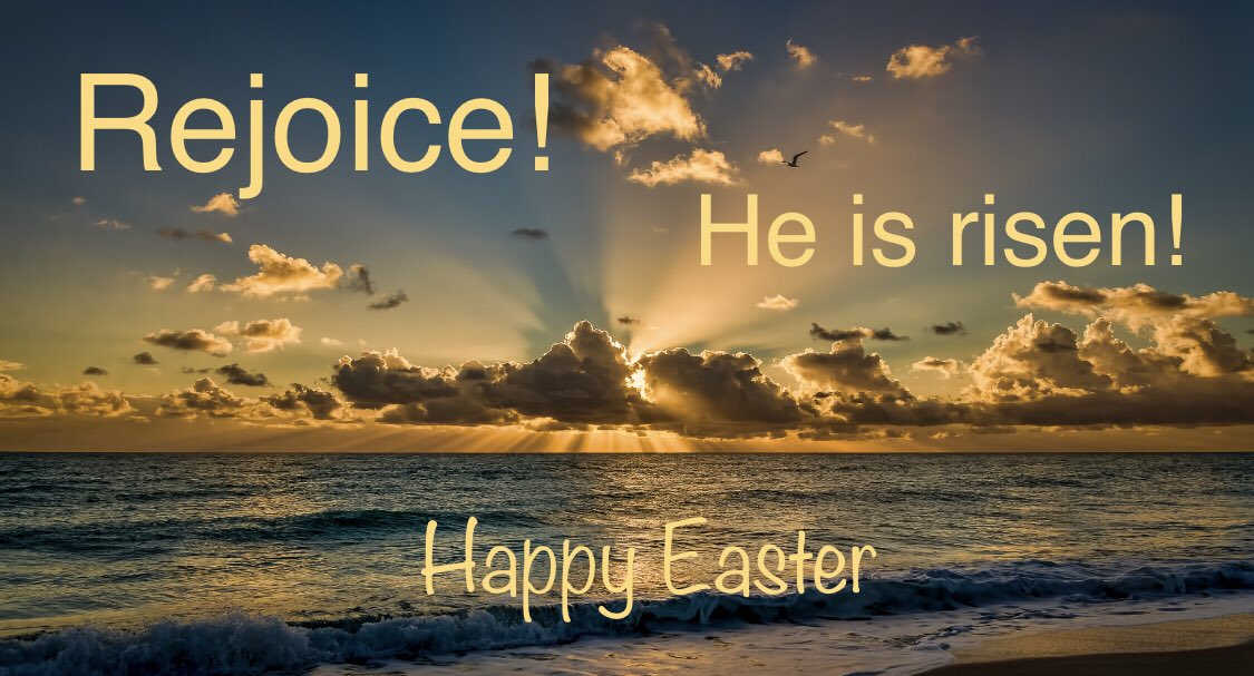 Celebrate the resurrection of Jesus Christ today - because of his sacrifice, we are saved. Christ the Lord is risen indeed - Hallelujah! #Easter