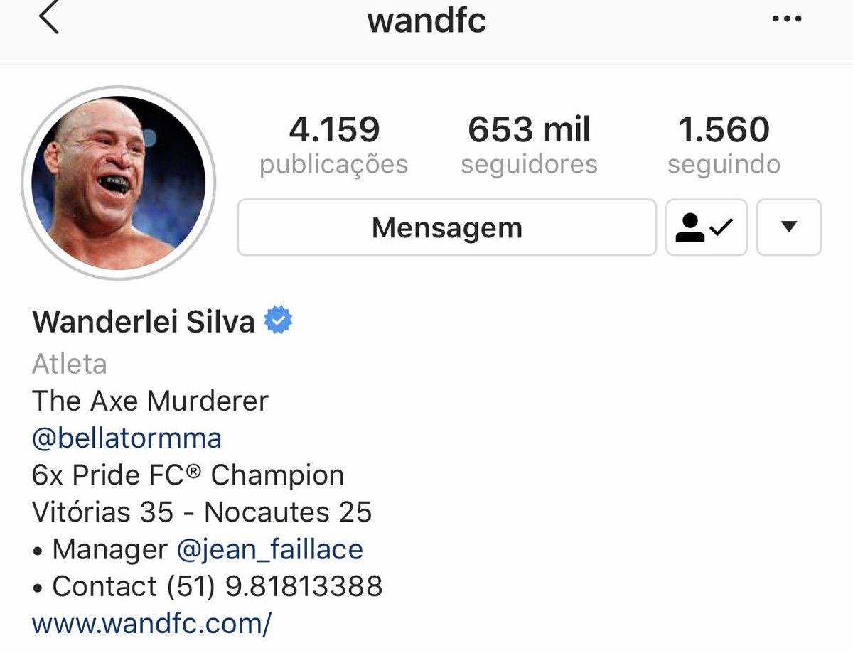 Follow no Instagram @wandfc  Siga no Instagram @wandfc  https://t.co/58hy9nINJv https://t.co/6y00wWQ8O3