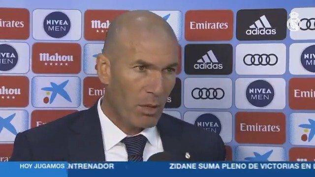 👔💬 Zidane atendió en zona mixta a #RMTV, donde habló sobre el partido frente al AthleticClub. Este es el análisis del técnico francés... #HalaMadrid