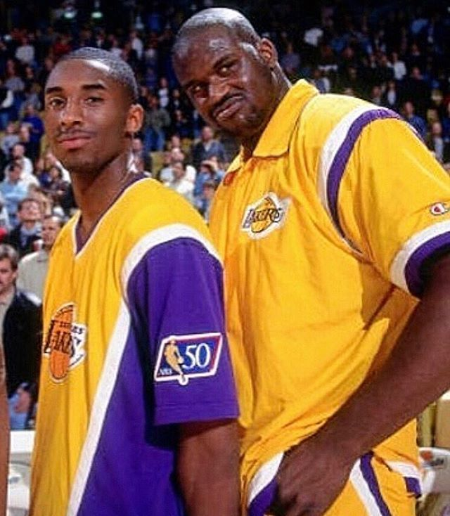 That dynasty in the making 💪🏿🐍🏆🏆🏆 ... #Lakers #LakeShow #NBA #Kobe #KobeBryant #Shaq