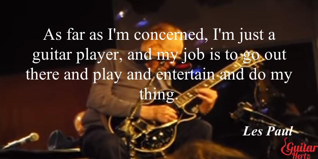 #music #LesPaul #WednesdayWisdom  #MusicWednesday  #Quote. Love #LesPaul? Share 🎸pls, share