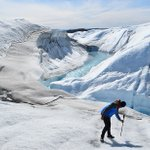 Image for the Tweet beginning: Research Spotlight: #Greenland's #ice sheets