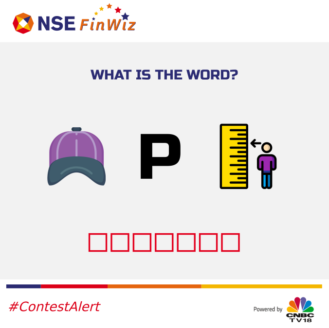 #ContestAlert. Give the right answer and stand a chance to win Amazon gift vouchers.  Follow these steps, 1. Follow us 2. Retweet 3. Write your answers in the comments section. 4. Tag your friends @NSEIndia #contestalertindia #contests #contestindia<br>http://pic.twitter.com/uQzV1Qgzw7