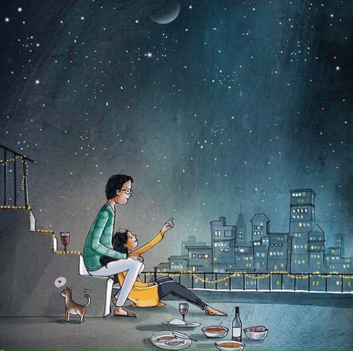 عندما يكون هناك من يرى سعادته فيك، فلا بد وأن تجد ما يسعدك فيه، فلا تتخلى عنه أبدا.