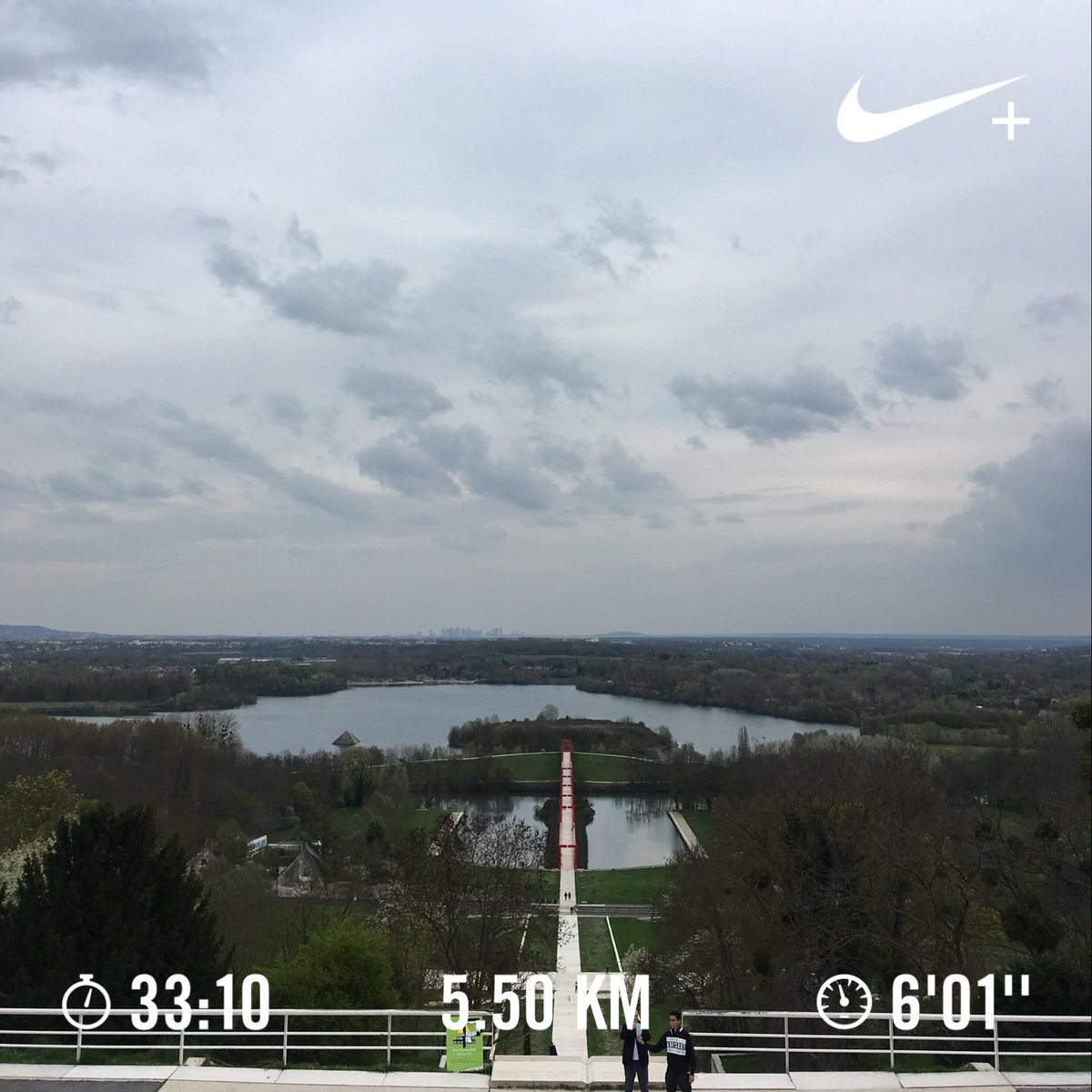 Nice and Easy 5K to wrap up the week 🏃🏻♂️ #nikerunclub #justdoit #10ksoon