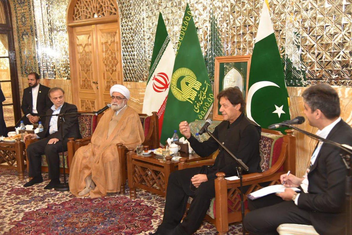 Pakistan PM Imran Khan visits Iran amid tense relations