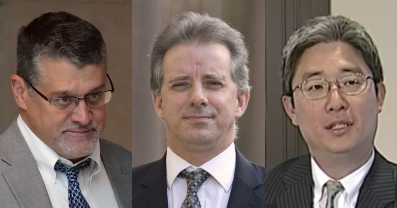 Why wasn't the #SteeleDossier & #ChristopherSteele part of Mueller's Investigation & Report?  Here, a Foreign National (A former MI6 agent) conspired with Hillary & the FBI to damage Trump with the explicit purpose of altering the 2016 election results!   They charged Russians!