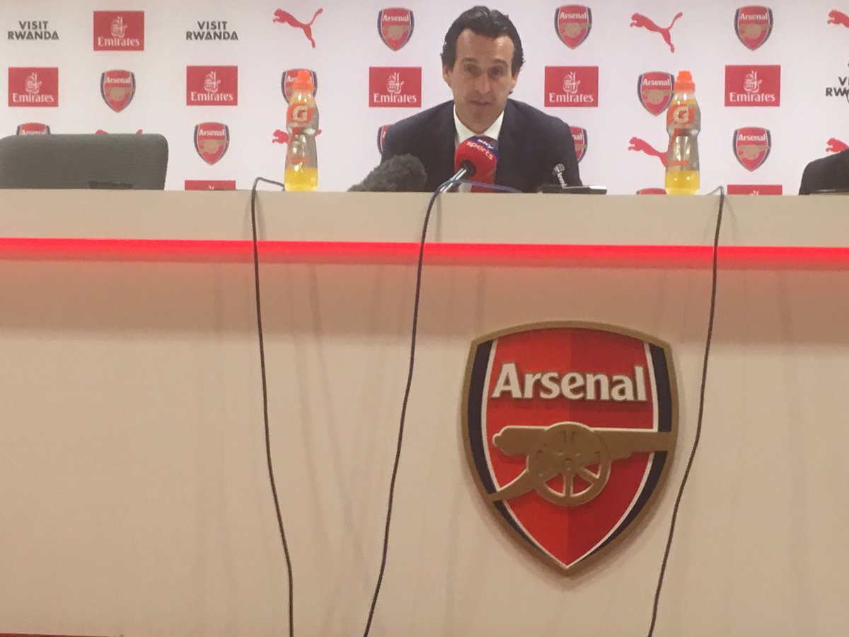 Arsenal boss Unai Emery insists: 'I think in the season Mustafi has been consistent...'