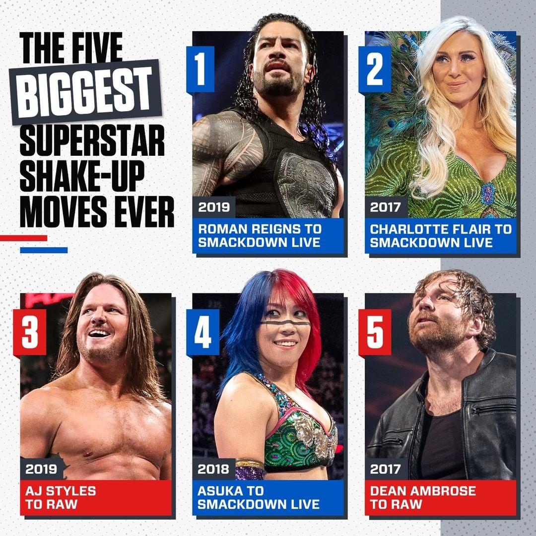 RT @RomanReignsNet: More photos from WWE's Instagram #RomanReigns #TheShield #SuperstarShakeup https://t.co/MbuJDFOEuc