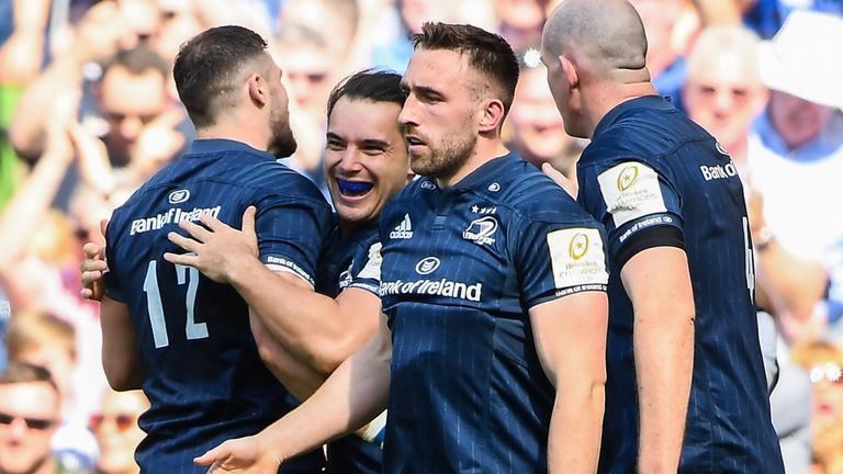 test Twitter Media - Leinster punish ill-disciplined Toulouse  Leinster will face Saracens in the Champions Cup final in Newcastle after beating Toulouse 30-12 at the Aviva Stadium: https://t.co/LbBhPouKdG https://t.co/GbqdRr4Zbq