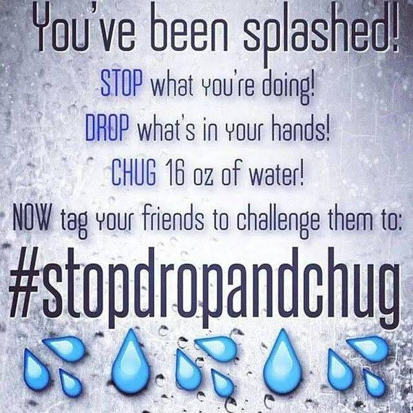 #LMALLC: #Warriors, YOU'VE BEEN SPLASHED! #StopDropAndChug 16oz #water right now! #BuyBlack #BankBlack #SupportBlackBusiness #SupportYourPeople #WeAllWeGot http://bit.ly/1LXBLK0 https://twitter.com/messages/compose?recipient_id=16056685…