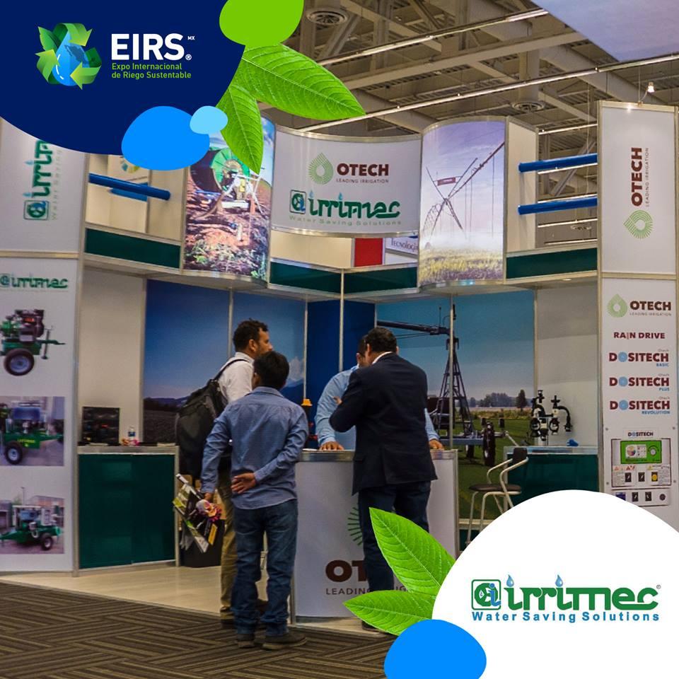 #Irrimec llevó a #EIRS2019 soluciones integrales para hacer de la #irrigación un proceso más fácil, todas las herramientas necesarias para eficientar esta tarea. ¡Gracias por honrarnos con su presencia! #EirsMx 💧⚙️#Riego #Querétaro #México #Sustentabilidad #SemanaEirs