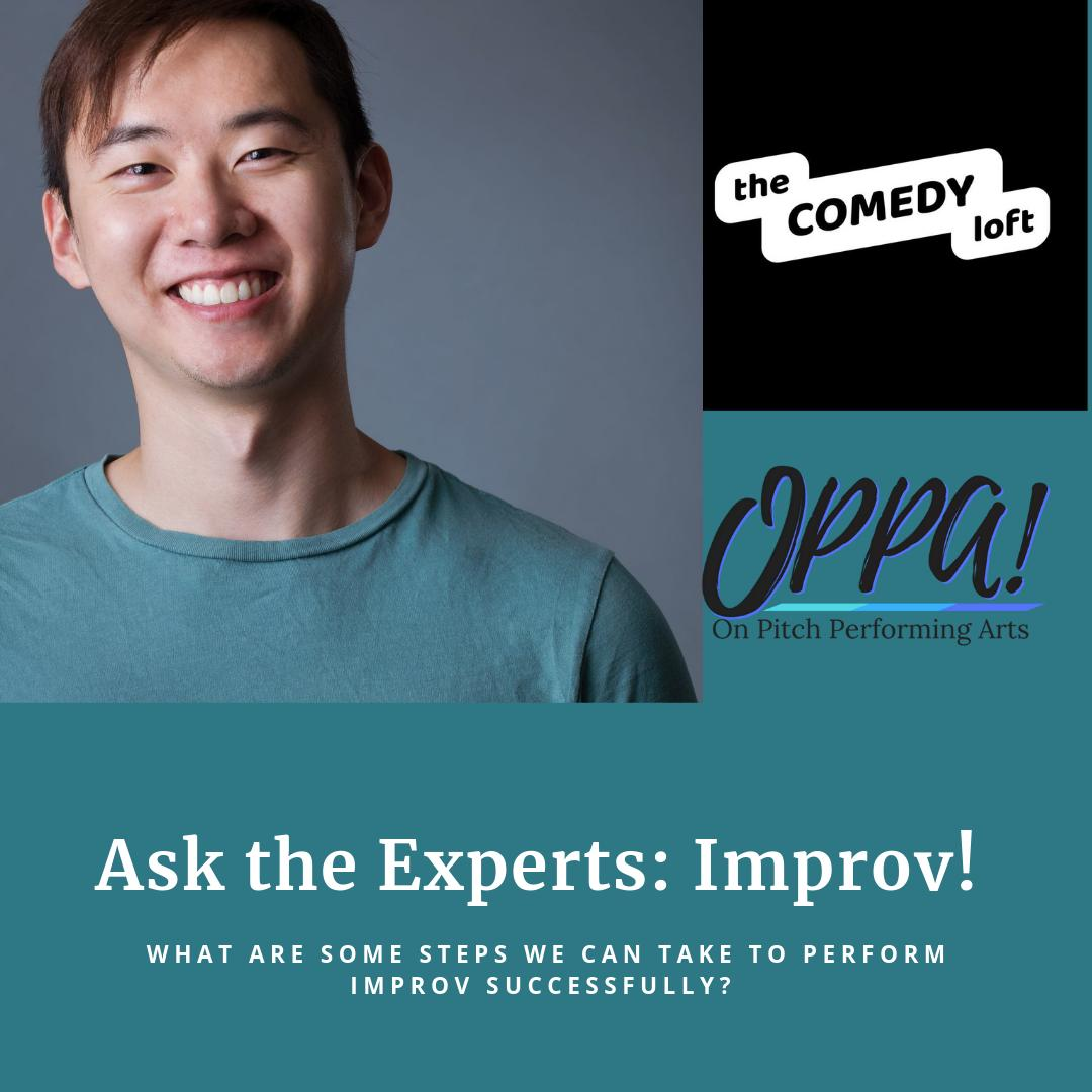 #ICYMI, here's last week's #AsktheExperts conversation with Matthew Tse from the Comedy Loft ! Read it as a blog or watch the live video. Get some info and tips on improv! #OPPA #LaytonsOnlyLiveTheatre #JustDoIt #Improv http://ow.ly/IOBu50qx3Nr