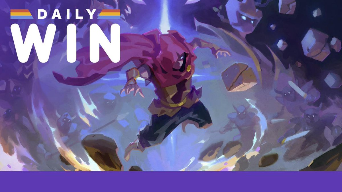 We're giving away another free copy of Wizard of Legend - this time, on PS4! go.ign.com/iLd7VgA