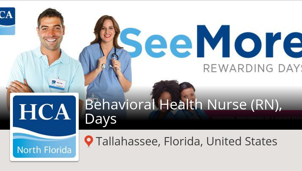 Behavioral #Health #Nurse (RN), Days (#job) wanted in #TallahasseeFloridaUnitedStates. #HCANorthFlorida https://workfor.us/hcanorthflorida/87ru …