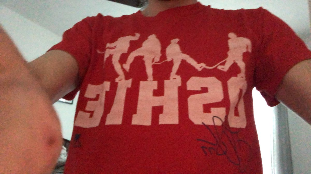 Wearing my @TJOshie77 shirt great game last night boys and speedy recovery TJ #ALLCAPS #CapsCanes