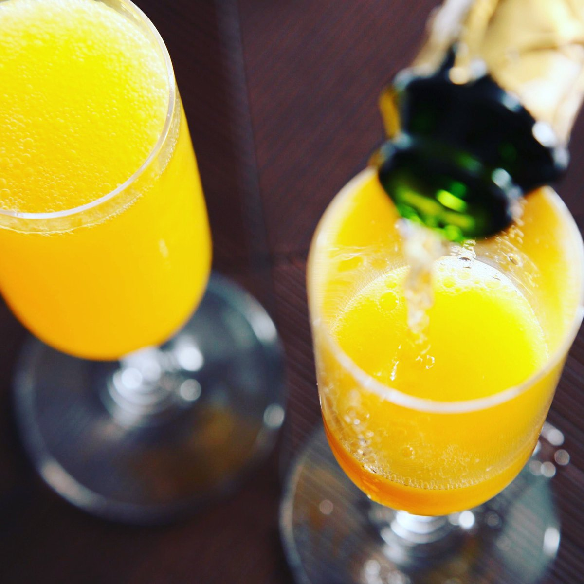 Mimosas count as your daily dose of Vitamin C right?? We're just going to say that's probably true so for your health you should have a few $7 Mimosas at Windsor Rose! #yyc #calgary #bar #drink #drinks #feature #yycpubs