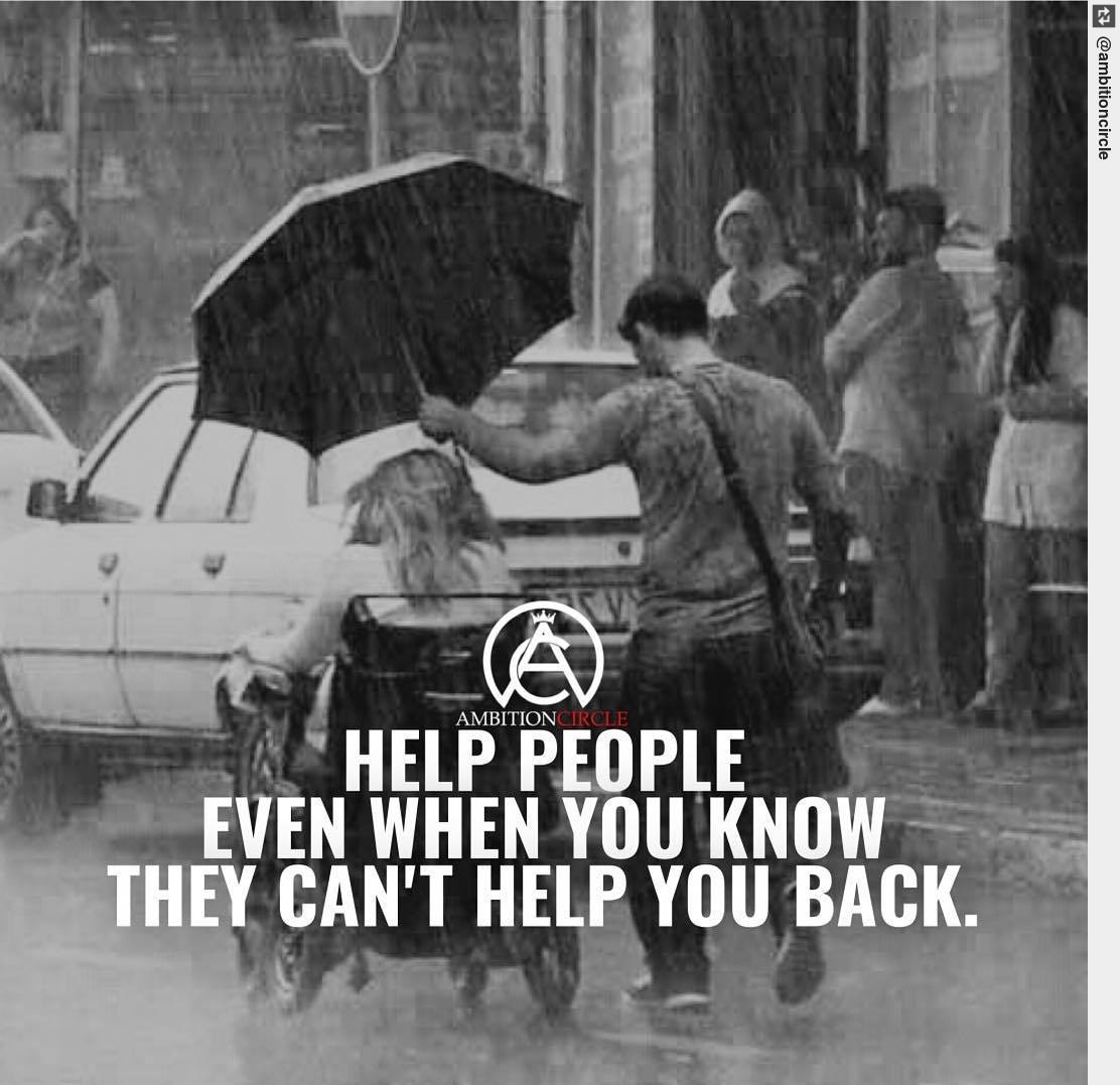 """Type """"Yes"""" if you're going to help someone in need 🙏 - retweet IF YOU AGREE! #entrepreneurship #entrepreneur #goals"""