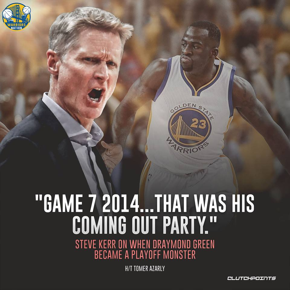 Draymond Green was hitting his stride to becoming a future all-star  #Warriors #DubNation