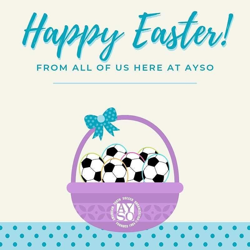 For those families that celebrate today, have a joyous Easter with food, fun, friends and family. 🐇🐣🌷🌸 For those that do not, may you enjoy your wonderful Sunday filled with laughter and good company. 😊🍽 #ayso #ayso136 #aysosoccer #holiday #Easter #funday #family #love