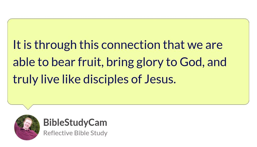 """When God comes by a branch that is bearing fruit, Jesus tells us that He trims those branches as well."" https://bit.ly/2Ayk4CY  #Jesus #Love #Bible #God #Christian"