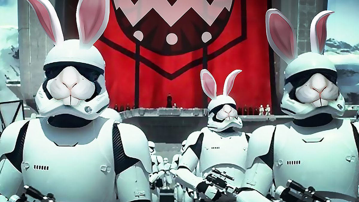 Happy Easter Film Fans❣️🐣🐇💐   May the force be with you. ✌🏼   #HappyEaster #easter #StarWars  #movie #movies #TheMovieJunkie #MovieJunkie101 #ForTheLoveOfFilm #PeaceLoveAndMovies