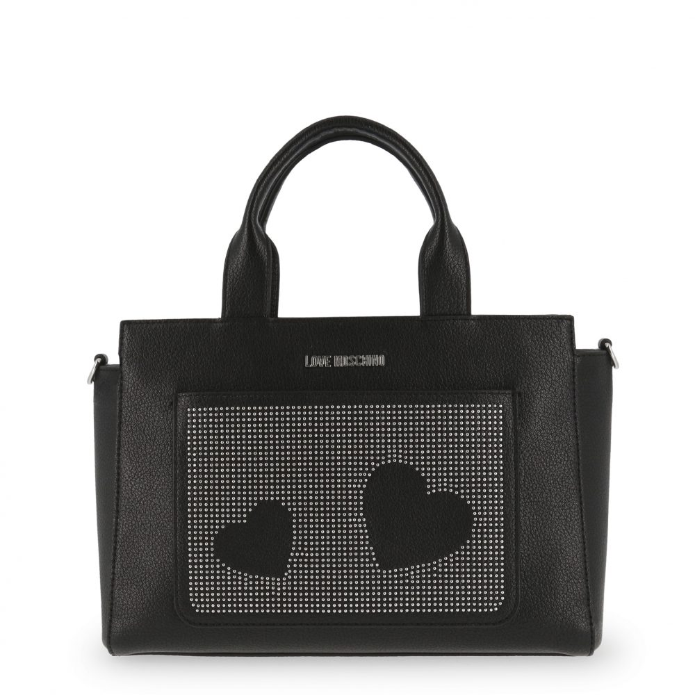 Love Moschino - JC4115PP16LT by Collection de prestige  Shop the collection at https://www.collectiondeprestige.com/product/love-moschino-jc4115pp16lt/… . . . #Bags #Black #Fall/Winter #Handbags #LoveMoschino #Women #collectiondeprestige #luxury #fashionblogger #outfit #competition #modeling