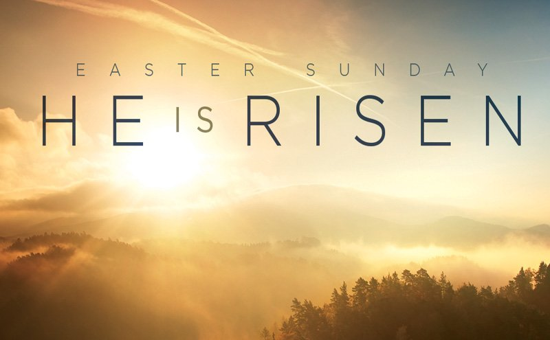 He is risen #EasterSunday  #ResurrectionSunday #peace #love #savior