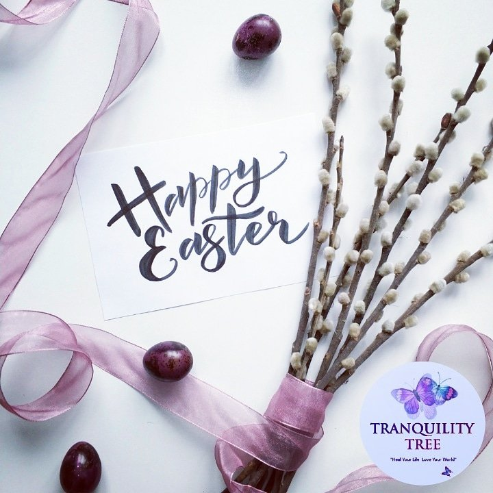 Happy Easter to those of you celebrating new life, family, peace and love. 🐣🌸🐣🌸🐣 #HappyEaster #celebrating #love #life #family #spirituality #peace #growth #elevation #growthmindset #SimplyBe #TranquilityTree #himeindigo 💗