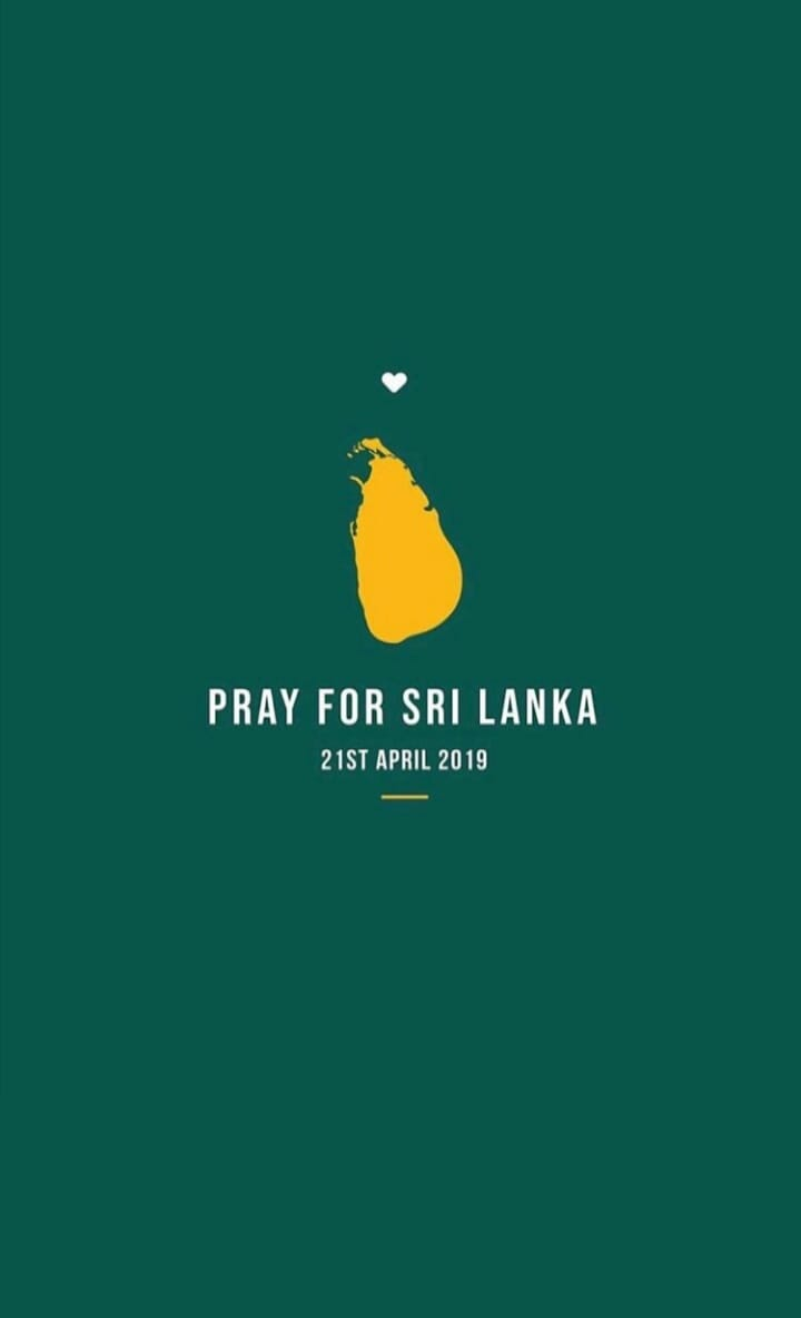Deeply saddened after hearing about #SriLankaAttacks. May ALLAAH (s.w.t) give strength and patience to those families who lost their loved ones.  We stand with you. #WeStandTogether #peace